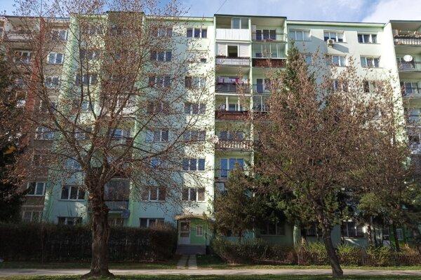 Bytový dom na Šafárikovej triede v Košiciach.