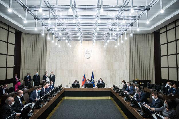 Rokovanie vlády.