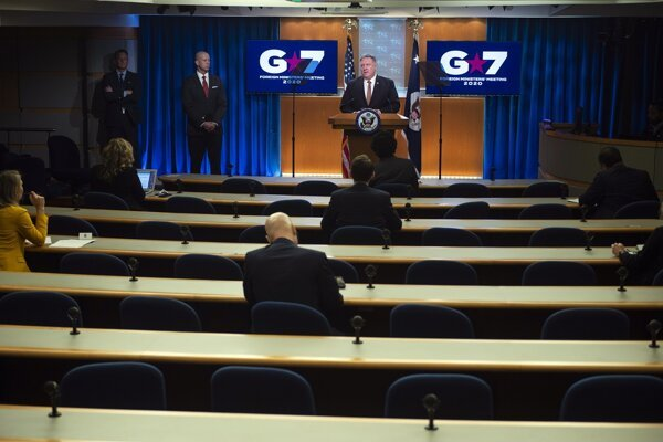 Americký minister zahraničných vecí Mike Pompeo.