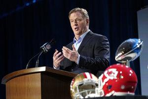 Komisár NFL Roger Goodell.