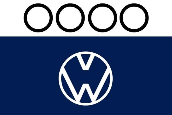Logá Audi a Volkswagen počas pandémie.