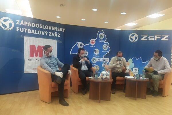 Zľava: Juraj Koprda, Peter Paška, Ladislav Gádoši aMartin Kilian.