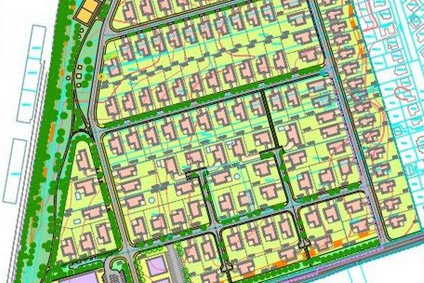 Urbanistická štúdia počíta na Rybníku s viac ako stovkou domov.