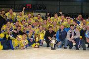MHK Kežmarok - víťaz 1. hokejovej ligy 2006/2007.
