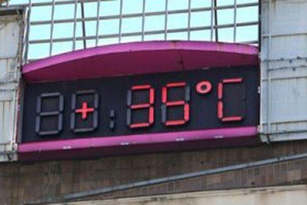 V Žiari padol teplotný rekord naposledy v roku 2007.