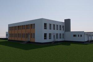 Takto by mala škôlka vyzerať po modernizácií.