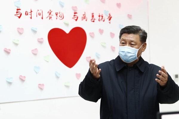 Čínsky prezident Si Ťin-pching