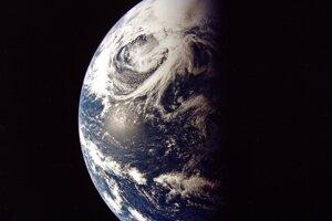 Pohľad na Zem.