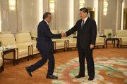 Riaditeľ WHO na návšteve u čínskeho prezidenta.