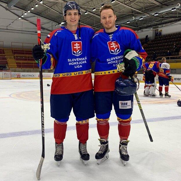 Sebastián Šmíd a Daniel Štumpf účasťou tímu All Stars Game 2020