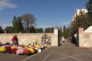 Cintorín na ulici Terézie Vansovej v Trnave.