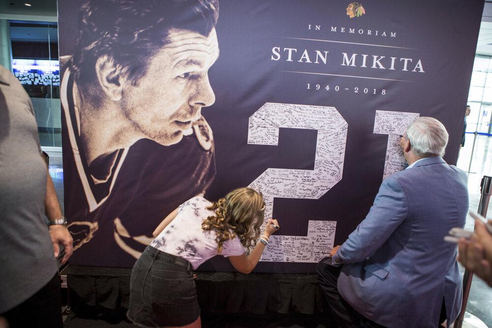 So Stanom Mikitom sa lúčili fanúšikovia v roku 2018.