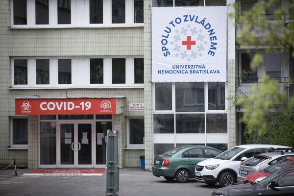 Univerzitná nemocnica v Bratislave.