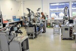 Výrobné priestory firmy MTS.