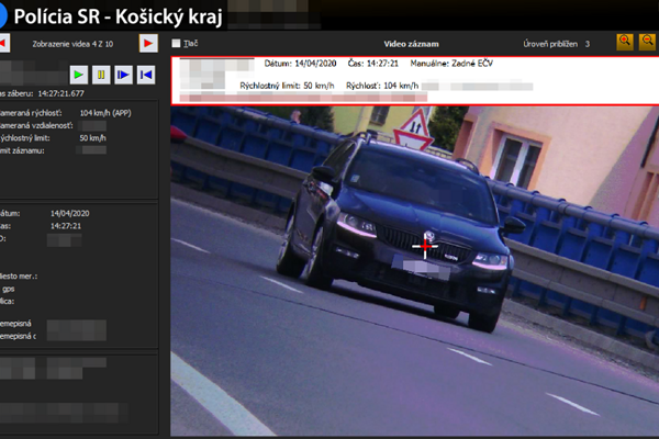 """Sečovská cesta je obľúbeným miestom """"zrýchlenia""""."""