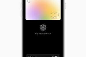 O bezpečnosť sa stará funkcia Touch ID.