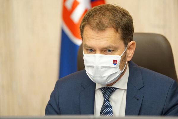 Predseda vlády SR Igor Matovič (OĽaNO).