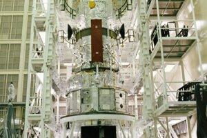 Hubblov vesmírny ďalekohľad pri prípravách na Zemi.