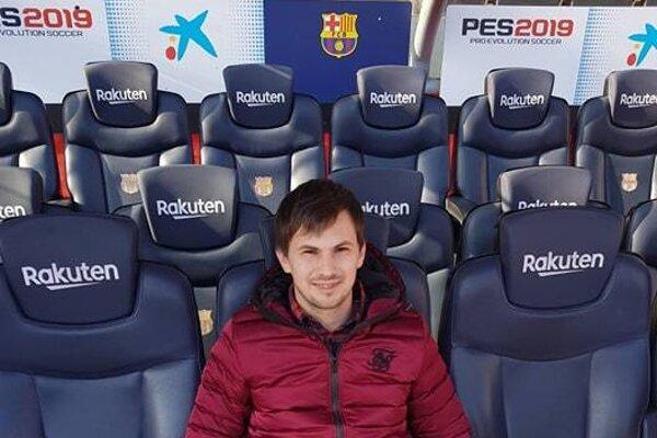 Tomáš Benkó na striedačke Barcelony