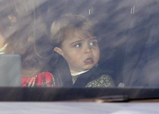 Princ Louis v aute.