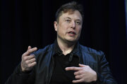Elon Musk, šéf spoločnosti SpaceX.