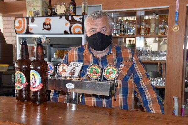 Peter Lariš, majiteľ malého pivovaru vČadci.
