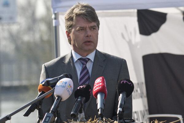 Prezident Slovenského mliekarenského zväzu Stanislav Voskár.