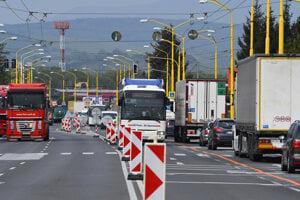 Slovenská správa ciest začala 4. mája s rekonštrukciou cesty I/18 Prešov - Lipníky.