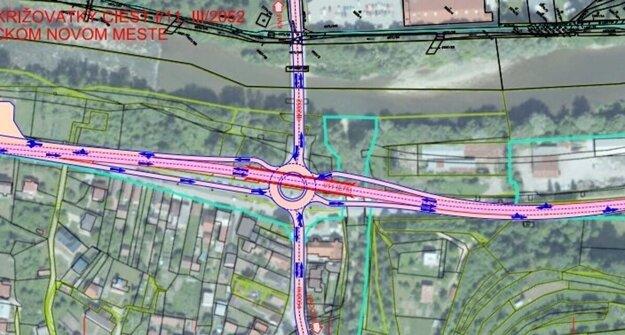 Mimoúrovňová križovatka má vyriešiť nahustenú dopravu na Kysuciach.