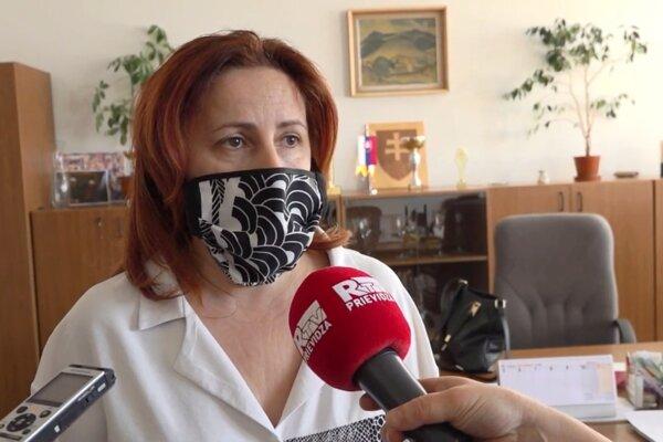 Regionálna hygienička Zuzana Tornócziová pravidelne komunikuje s médiami. Ľudí informuje o aktuálnej situácii s koronavírusom.