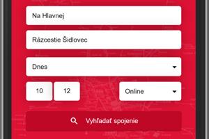 Vynovená mobilná aplikácia MHD Prešov.