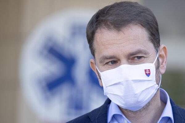 Koronavírus na Slovensku: Premiér Igor Matovič.