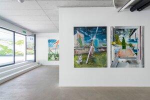 Výstava Petra Cvika: Tok/Flow
