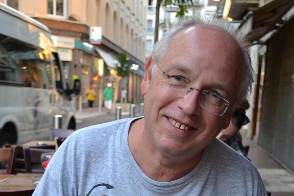 Francúzsky spisovateľ Stéphane Bourgoin.