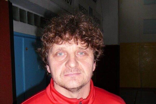 Tréner starších žiakov Považskej Bystrice Stanislav Solík.