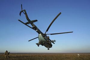 Vrtuľník Mi-8.