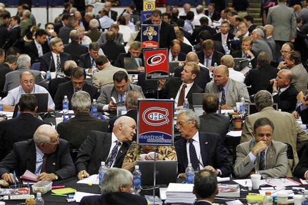 Vstupný draft NHL - ilustračné foto
