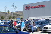 Továreň spoločnosti Kia Motors Slovakia v Tepličke nad Váhom.