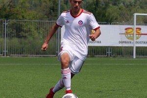 Dominik Rucek v drese AS Trenčín.