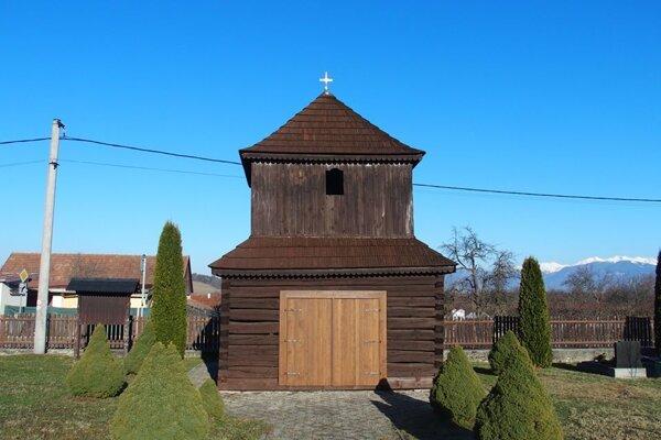 Zvonička v Pavčinej Lehote.