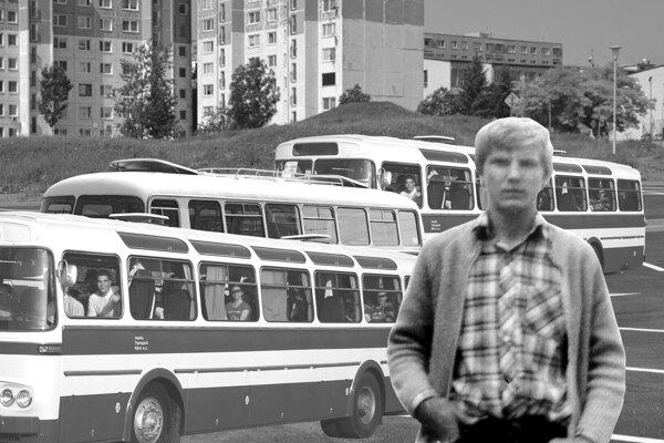 Juraj Kusy pracoval v roku 1986 ako dispečer v ČSAD. Na výjazd šli autobusy Škoda ŠL (ešelky) a RTO.