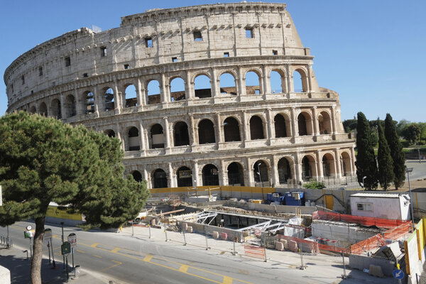 Rímske Koloseum od júna opäť otvoria pre návštevníkov