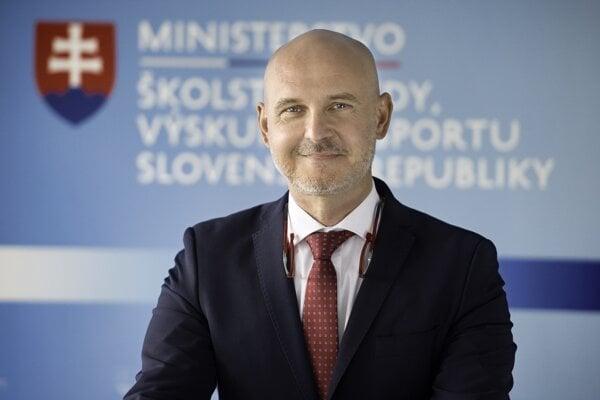 Minister školstva, vedy, výskumu a športu SR Branislav Gröhling (SaS).