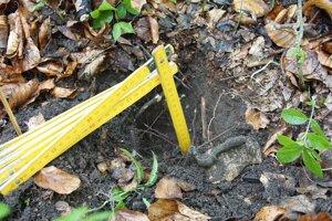 Našli sponu z doby rímskej aj olovené guľky z pištole.