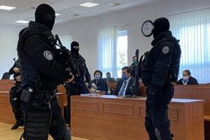 Marian Kočner na pojednávaní v kauze vraždy Kuciaka.