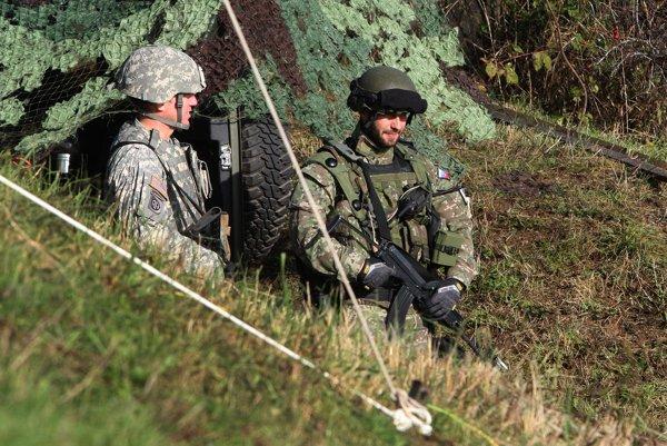 V Zemianskych Kostoľanoch sa vojaci prezentovali už veľakrát aj v minulosti.