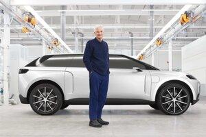 Prototyp elektrického SUV s Jamesom Dysonom.