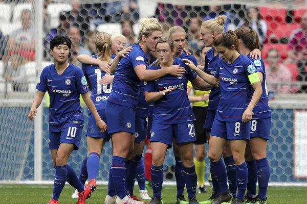 Futbalistky FC Chelsea.