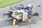 Vodič tejto motorky nehodu neprežil.