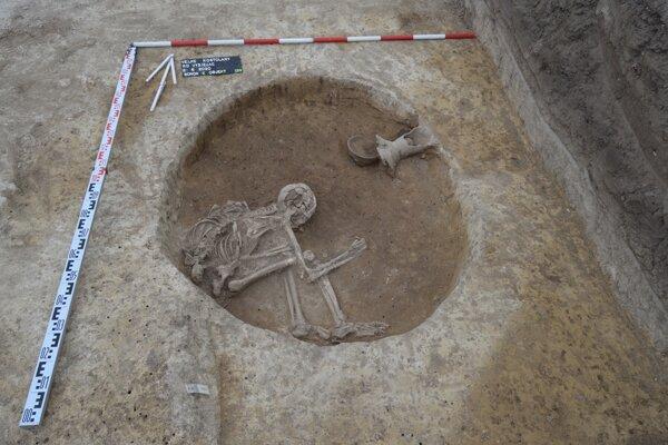 Archeologický výskum.